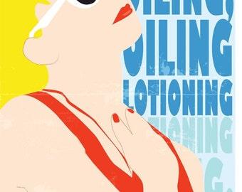 "Wendy Peffercorn 12x18"" Poster"