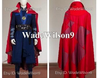Doctor Strange Dr Strange Steve Vincent Cosplay Costume Handcraft Size