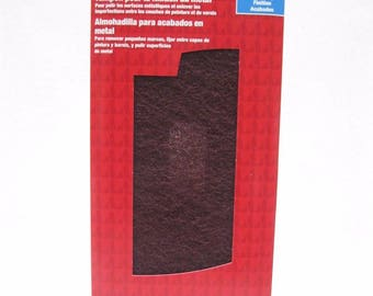 Ace Hardware Metal Finishing Sanding Scrubbing Pad 1469337 Two Pack