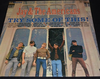 Vintage Vinyl Record Jay and the Americans: Try Some of This Album UAS-6562