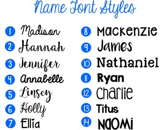 Name Decal, Word Decal, Vinyl Monogram Decal, Any Word Decal, Name Sticker
