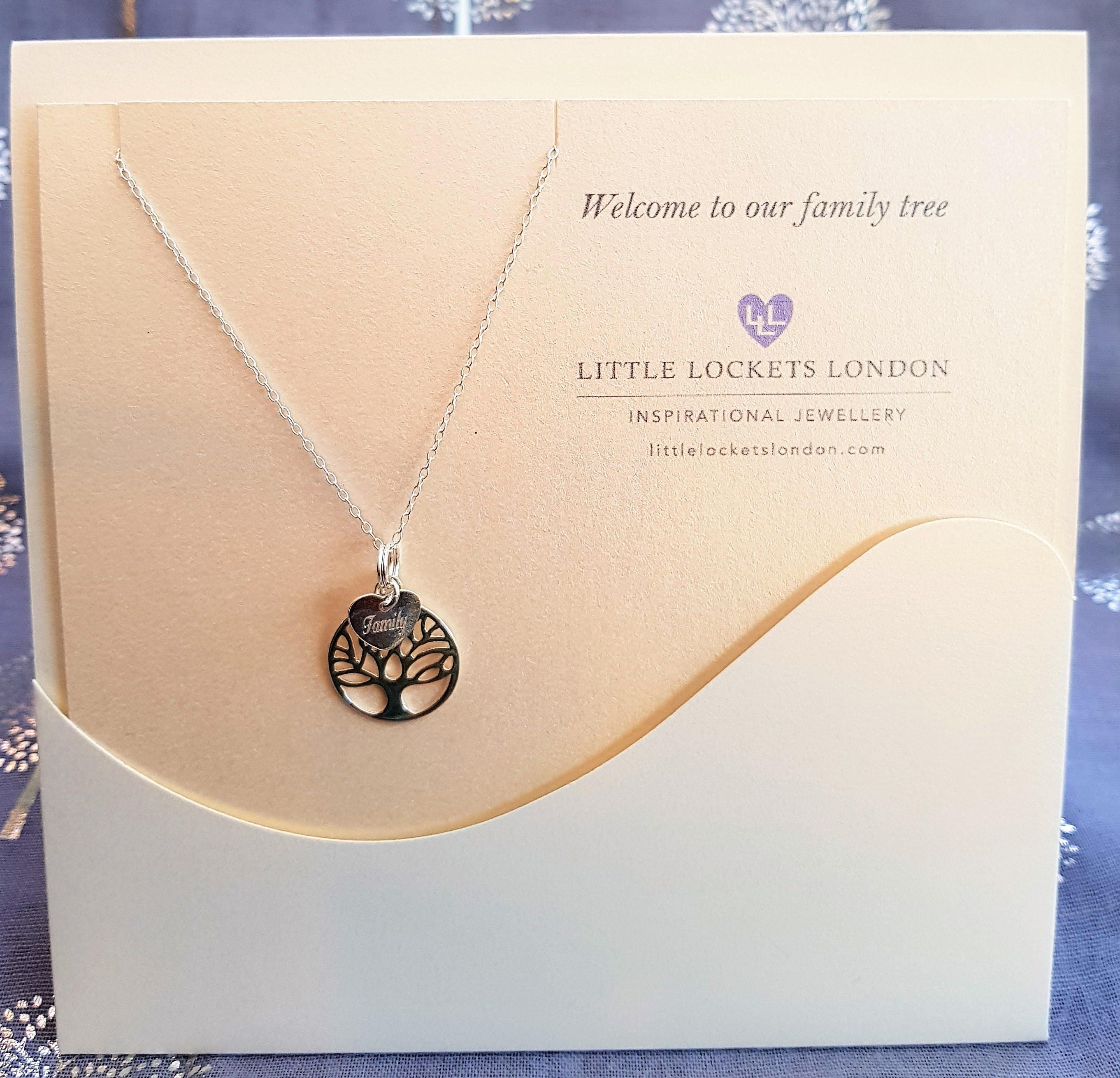 family wire custom silver sterling with of pendant fullxfull in necklace tree listing cross birthstones wrapped il life