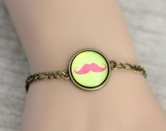 Moustache bracelet, (1616B)