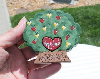 Apple Tree Love Chunk Great for Teachers