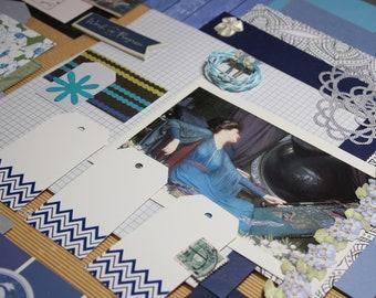 PenPal Kit - Happy Mail - Junk Journal Kit - Paper Ephemera - Collage Kit - Stationery - Writing Pack - 45 PCS