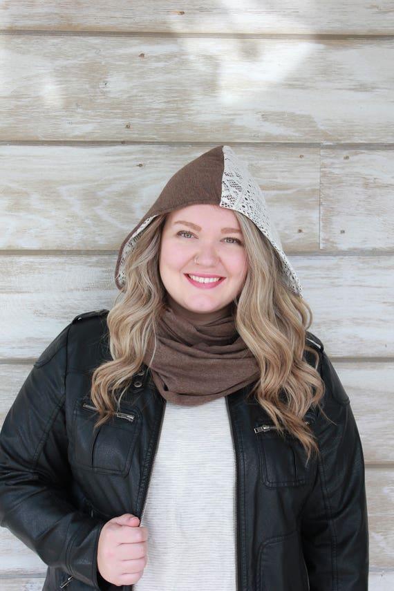 Heidi Hood - Brown/Lace