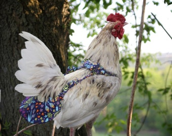 Small Stylish Chicken Diaper- Perfect for Small Bantams