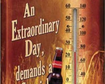 Vintage Style Budweiser Extraordinary Deer Indoor / OutdoorThermometer ~ Brand New in Package ~ Made in the USA!