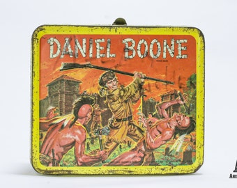 Daniel Boone Metal Lunchbox