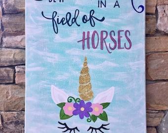 Unicorn Canvas Art