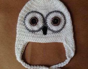 Snowy Owl Hat