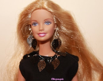NECKLACE and EARRINGS, BARBIE, poppy parker, momoko, fashion royalty