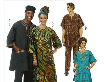 Sewing pattern Butterick B5725 ethnic by