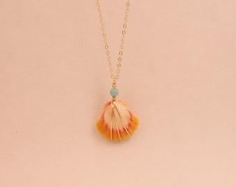 Medium Sunrise Shell Necklace