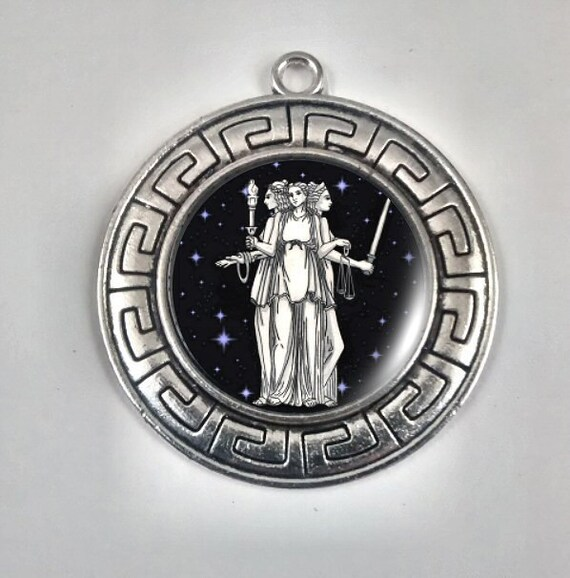 Greek Goddess Hecate Moon Goddess Guardian Of Crossroads