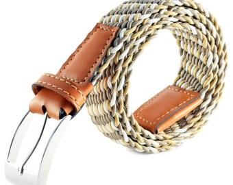 Braided belt PERLE