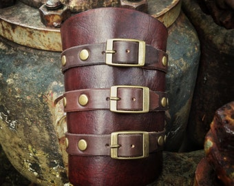 Buckle Up Steampunk bracer