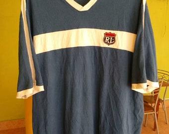 Vintage Polo Jeans Ralph Lauren Big Logo Hip Hop Large T Shirt/Polo Sport/Polo Tennis/Polo Sportsman/Polo Stadium/Polo Pwing