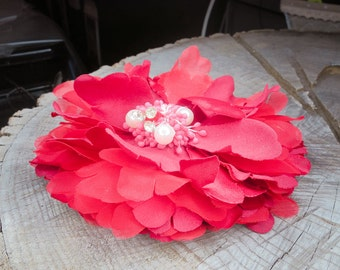 Giant Peony Hair Clip ~1 pieces #100822