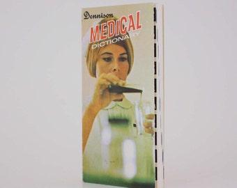 Dennison Medical Dictionary Pocket Version - Vintage Book c. 1975