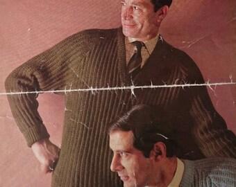 Vintage Sirdar Raglan Sweat Knitting Pattern - Design no. 2319