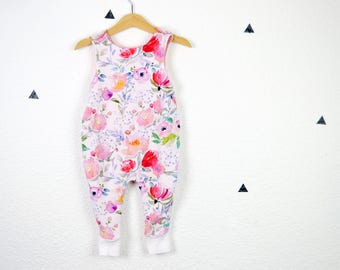 Baby Onesie *Watercolor Flowers*