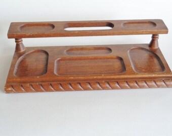 Dante Carpenter's Bench Genuine Mahogany Men's Dresser Top Valet