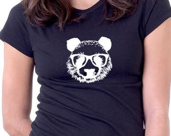 Papa shirt etsy cool bear t shirt funny t shirt bear with glasses wise bear publicscrutiny Gallery