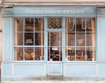 Paris Photography, The Harpsicord Shop, France Fine Art Travel Photograph, Paris Home Decor, Large Wall Art