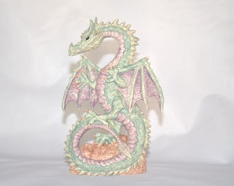 Ceramic Dragon Statue