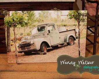 Vintage Truck Canvas Artwork | Photography | Canvas Print