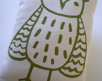 Pillow with Pocket-Owl