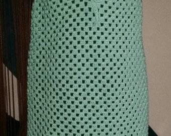 Granny crochet dress