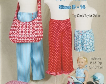 Pajama Pants For Kids: Sizes 5 - 14 By Cindy Taylor Oates