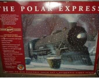 Bachmann polar express g train