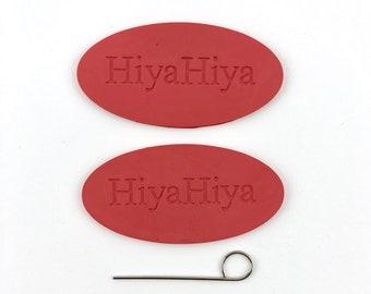 HiyaHiya Interchangeable Tool & Needle Grips,  Circular Needle Part Interchangeable Part, 1 Set Needle Grips 1 Interchangeable tool, 3PC Set
