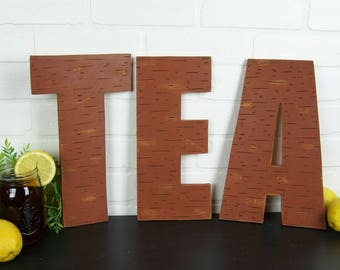 Sweet Tea Sign Rustic Kitchen Sign Tea Gift Kitchen Wall Art Rustic Wood Decor Farmhouse Kitchen Decor Tea Lover Gift Kitchen Letters Decor