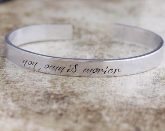 Non Omnis Moriar / Not All of Me Shall Die / Latin Quote Jewelry / Inspirational Jewelry / Inspirational Bracelet