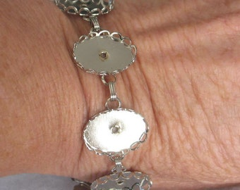 SALE Add your Own  Cabochons Bracelet