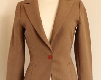 Cambridge - size small brown blazer jacket uk 6-8