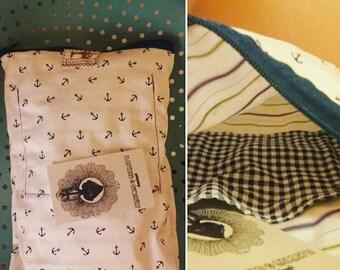 Hand-made clutch bag-handmade purse