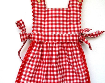 Lil Red Riding Hood Costume Pinafore