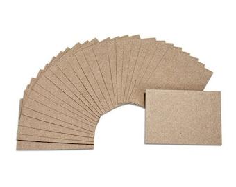 Small Kraft Cards - Blank, Set of 25
