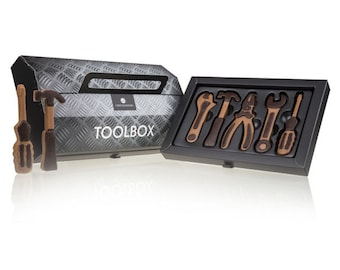 Father's Day Toolbox Chocolates Funny GIFT FOR HIM  Handmade chocolates Great gift idea for handyman