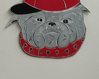 Bulldog Sign   Georgia Bulldog   Home Decor