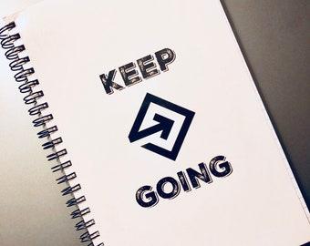 Keep Going Journal