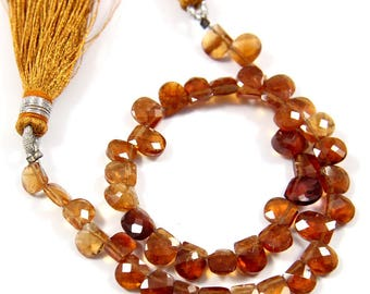 Natural Hessonite Garnet Gemstone,Faceted Fancy Beads,Wire Wrappped Making Jewelery,Gemstone Size 4-5 mm,Full 1 Strands X 8 inches,BL-45