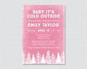 Winter Baby Shower Invita...