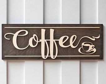 Coffee Sign | Coffee Bar | Coffee Sign Wood | Wood Coffee Sign | Kitchen Sign | Kitchen Decor | Wood Kitchen Signs | Coffee Signs