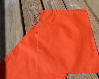 "6""x8""Cotton Double Drawstring Muslin Bags"